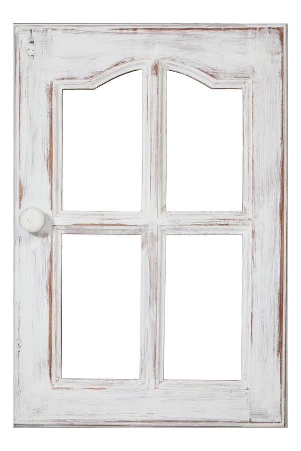 老木视窗 免版税库存照片