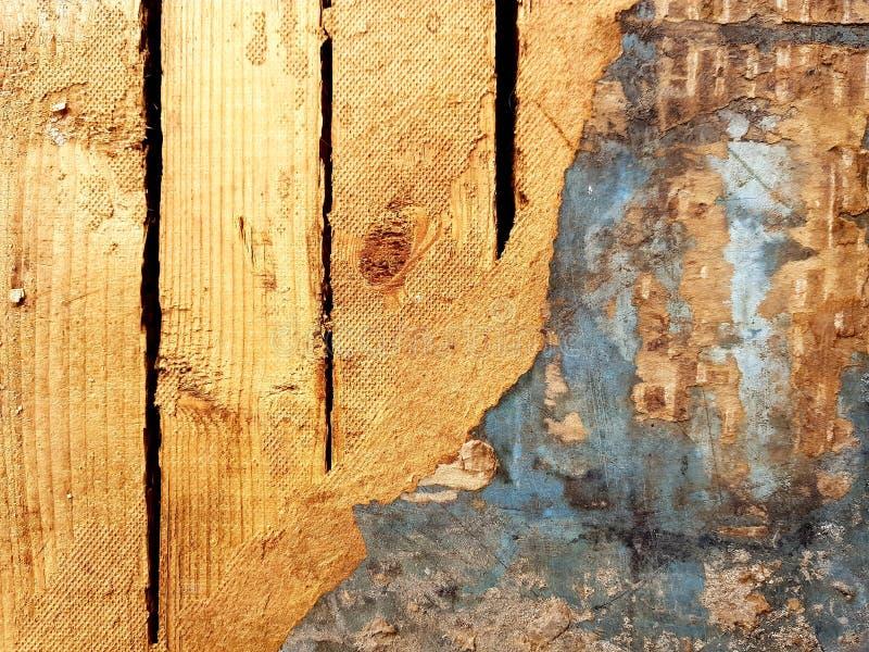 老木门特写镜头 抽象背景木头 图库摄影