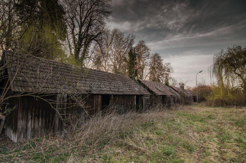 老木结构 图库摄影