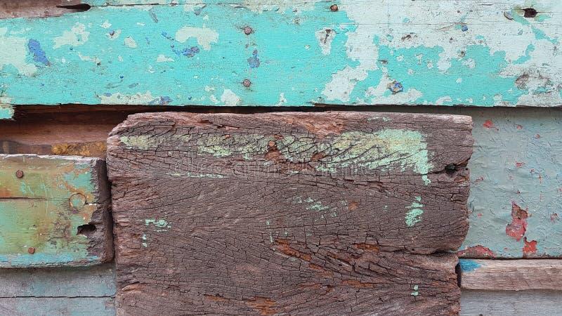 老木头的颜色 免版税图库摄影