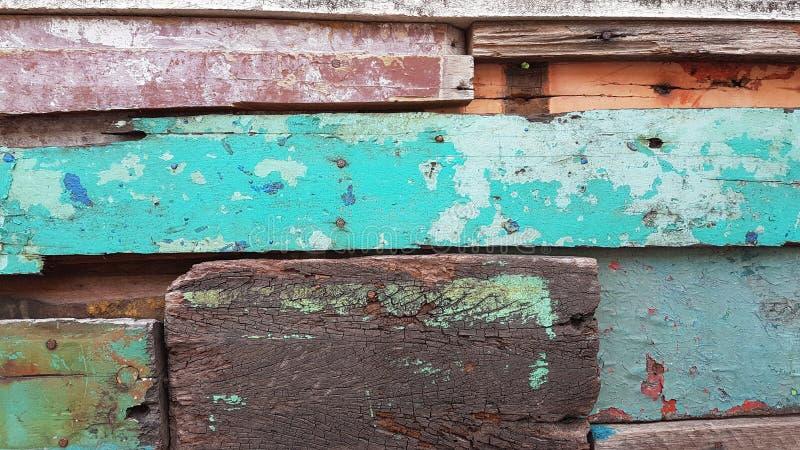 老木头的颜色 库存图片