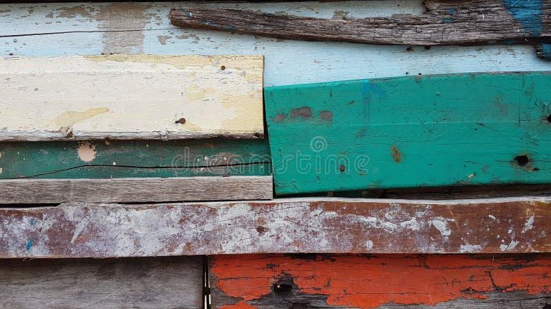 老木头的颜色 免版税库存图片