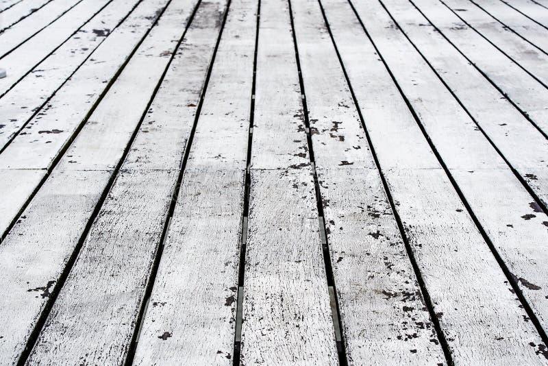老木年迈的地板 库存照片