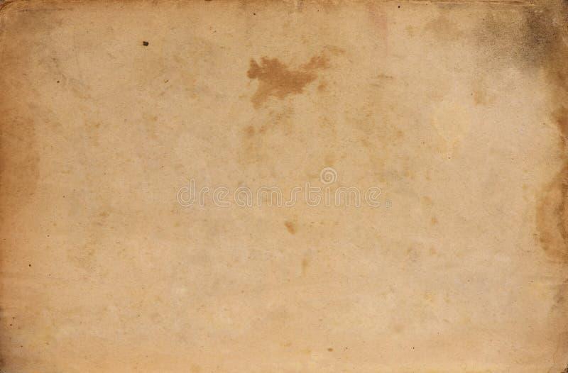 老杂乱纸板料 图库摄影