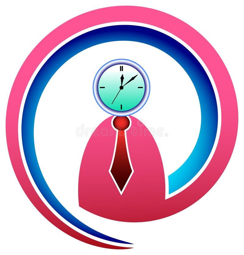 老板时间 向量例证
