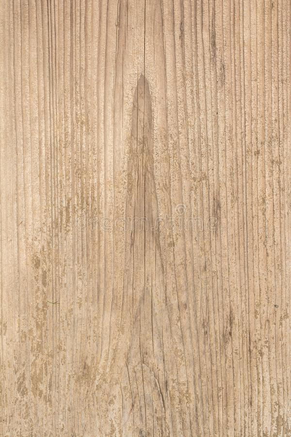 老树,古老被风化的木头,抽象背景表面的纹理与纵向镇压的  免版税库存图片