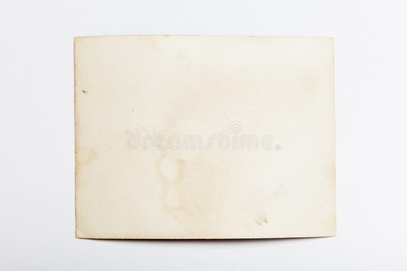 老框架照片,葡萄酒纸图片,边缘边界 免版税库存照片