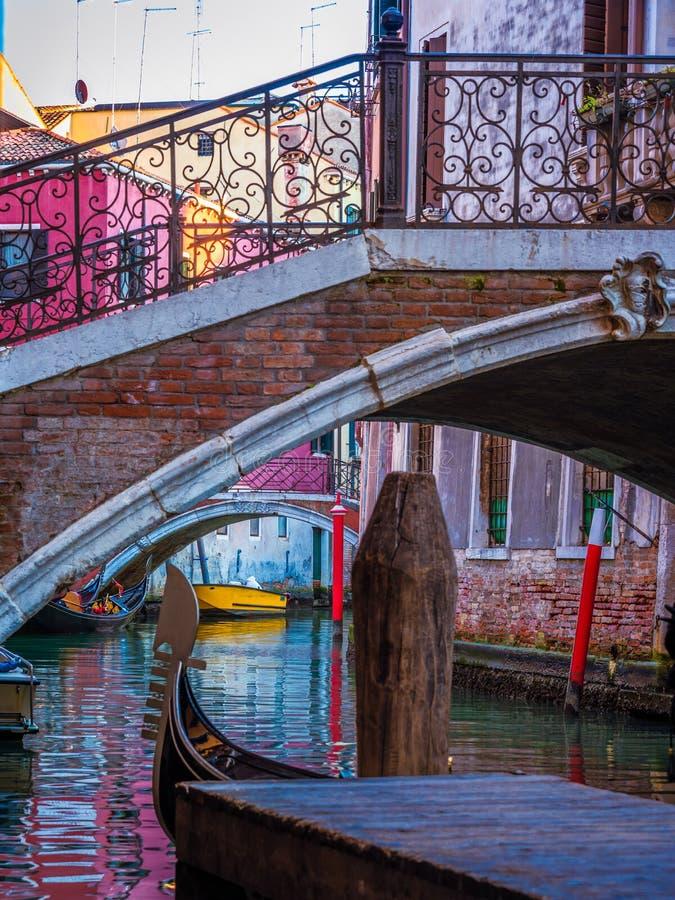 老桥梁威尼斯3 免版税库存图片