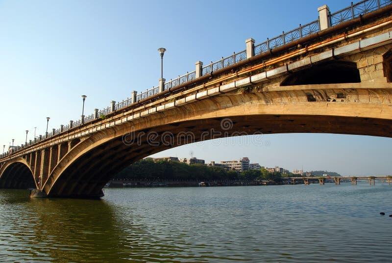 老桥梁 免版税图库摄影