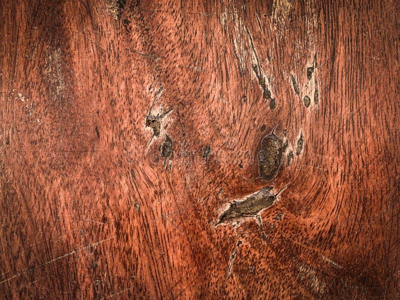 老棕色木头背景纹理  库存照片