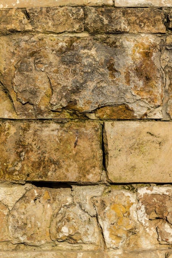 老棕色石工 图库摄影