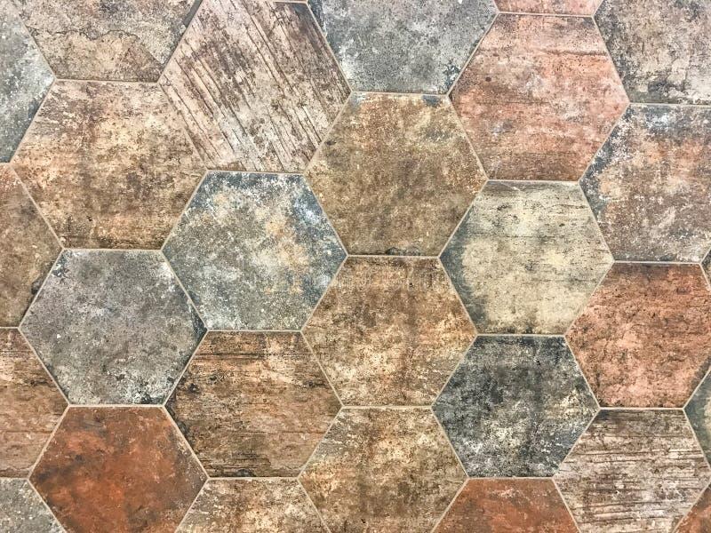 老棕色石背景纹理 库存图片