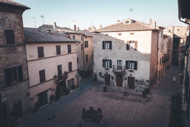 老欧洲镇街道  库存图片
