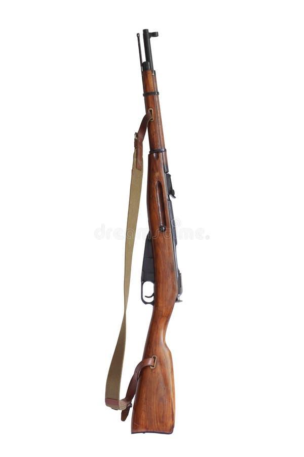 老步枪俄语 库存图片