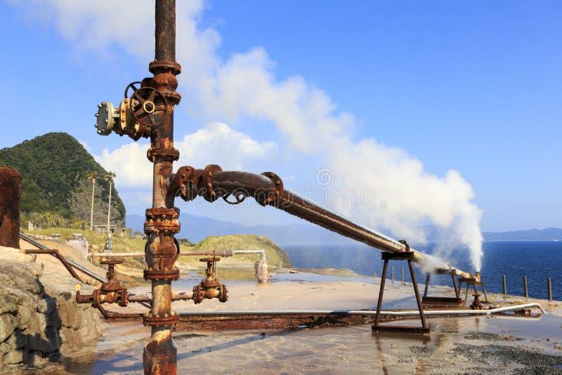 老水手工厂在鹿儿岛九州 图库摄影