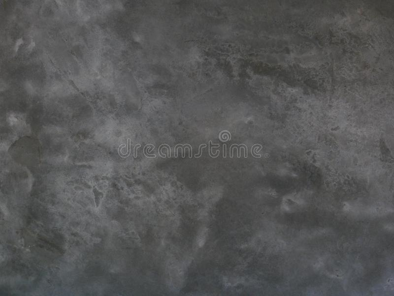 老水泥墙壁背景,灰色具体石地板纹理 免版税库存图片