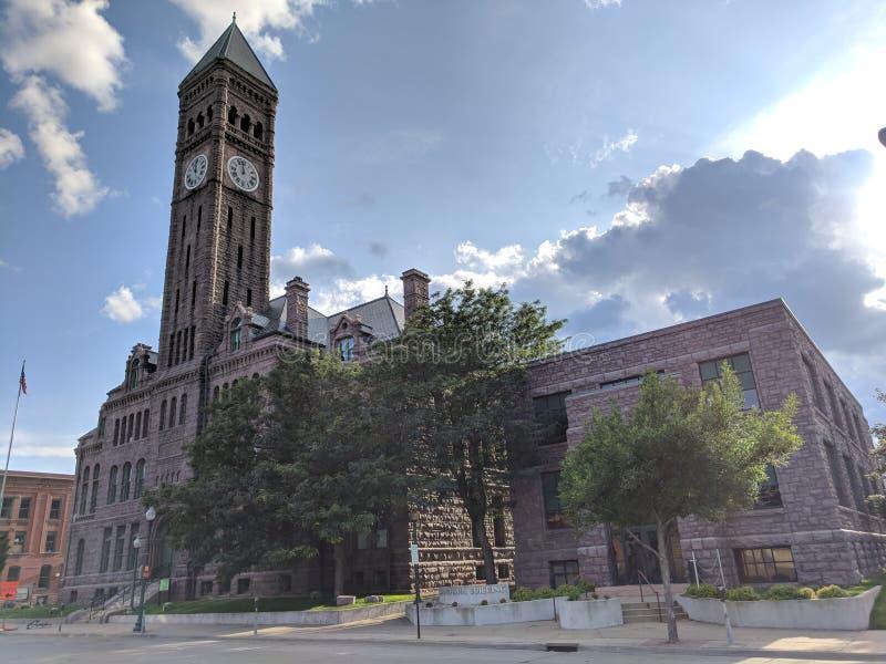 老法院大楼博物馆 库存照片