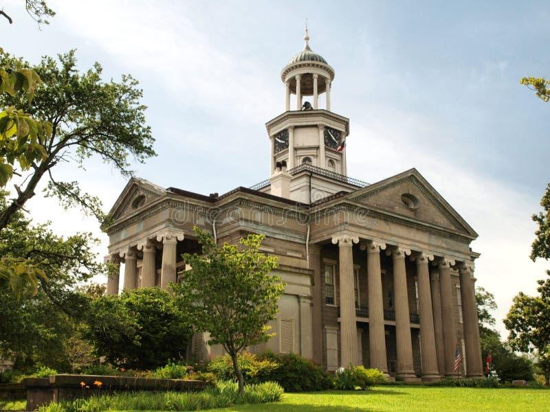 老法院大楼博物馆 免版税库存图片