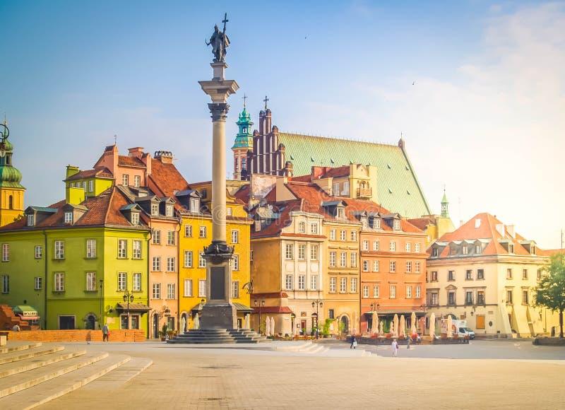 波兰华沙_老波兰方形城镇华沙