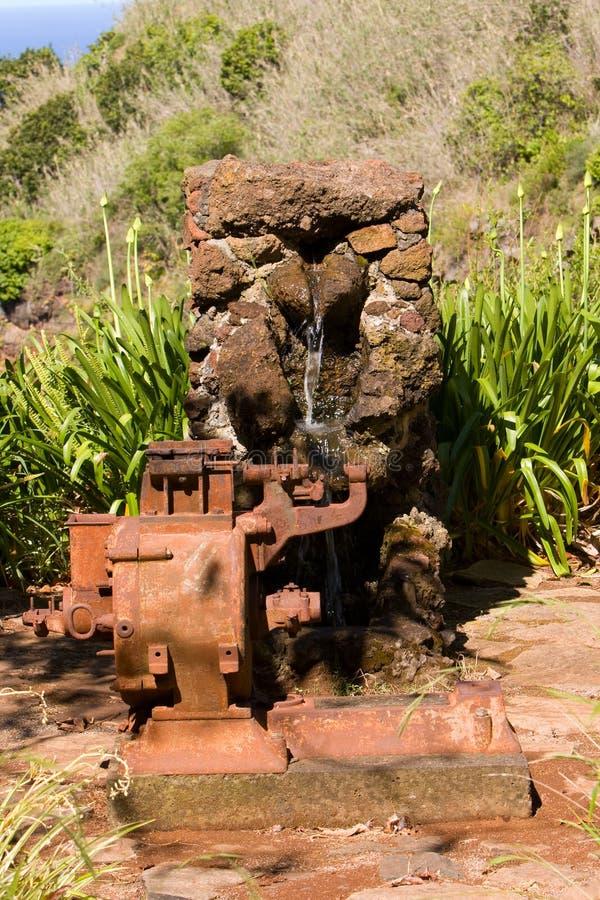 老泵水 免版税库存照片