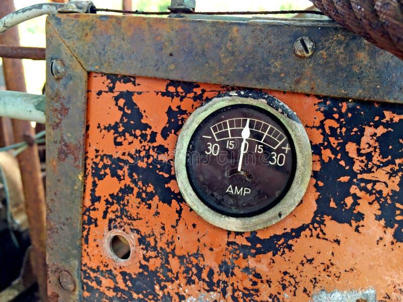 老测量仪 免版税库存图片