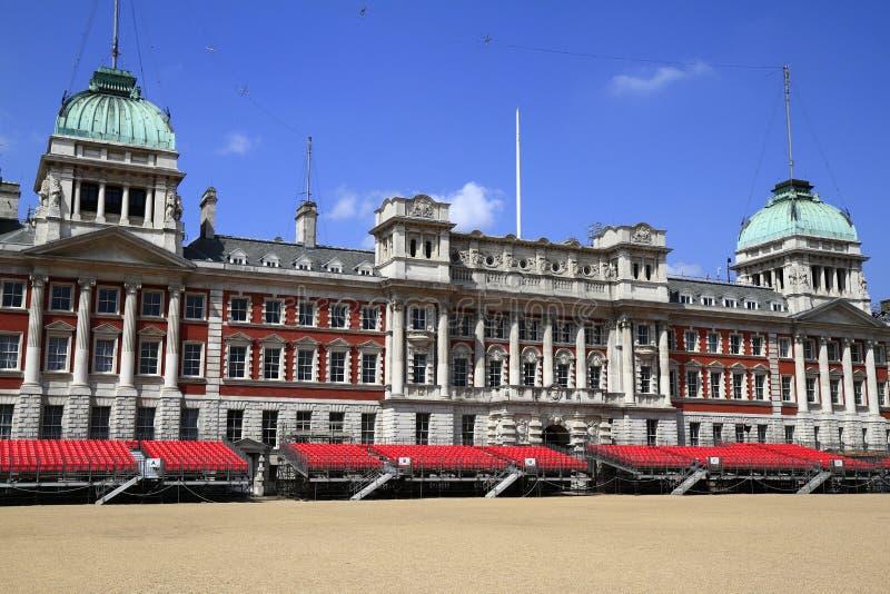老海军部大厦在伦敦 库存图片