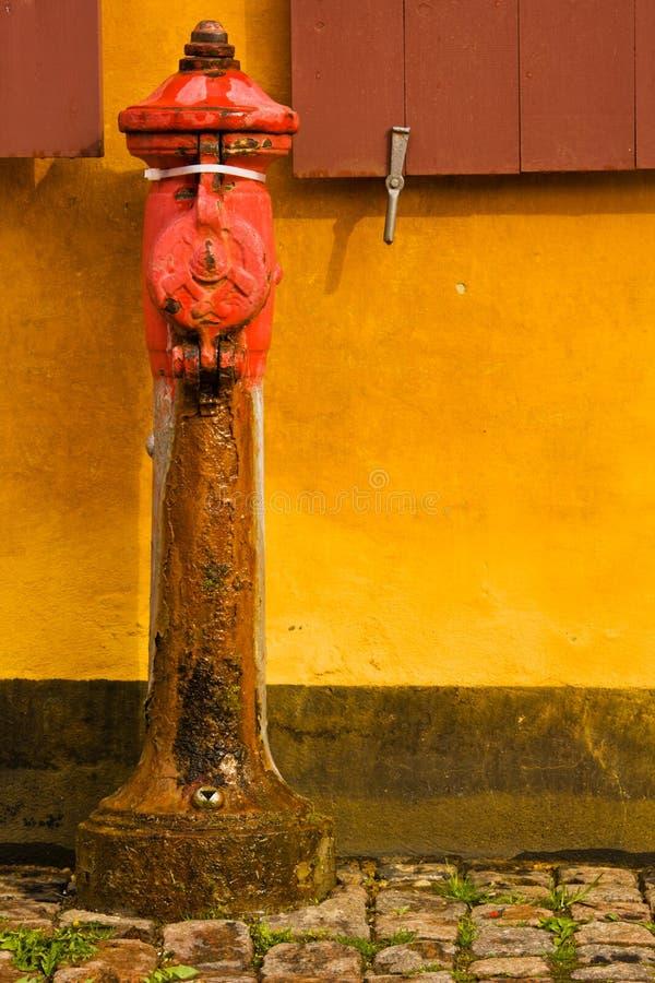 老消防栓 免版税库存照片
