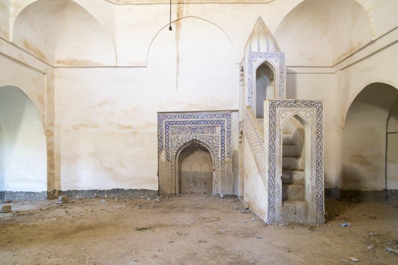 老清真寺在伊拉克 免版税图库摄影