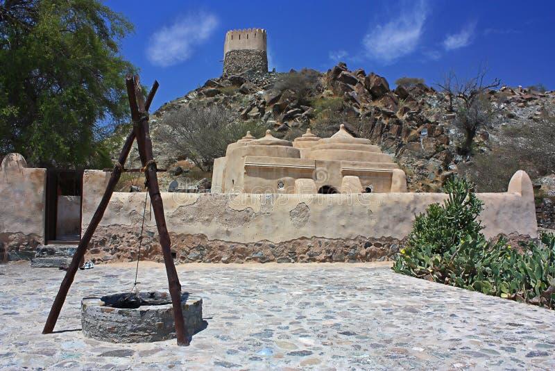 老清真寺在Bidiya 图库摄影