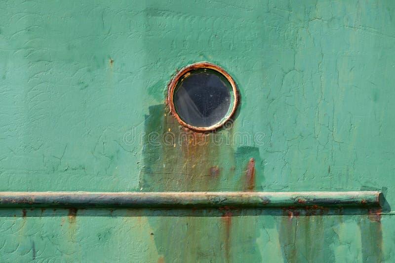老渔船细节 免版税库存照片