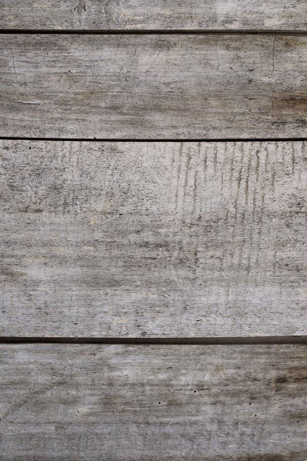 老灰色委员会的篱芭的背景纹理 免版税库存图片