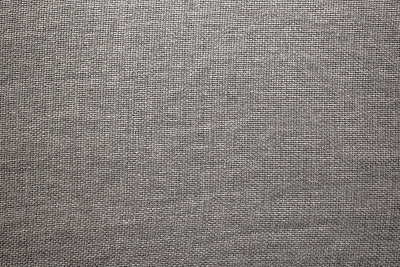 老灰色布料纹理 免版税库存图片