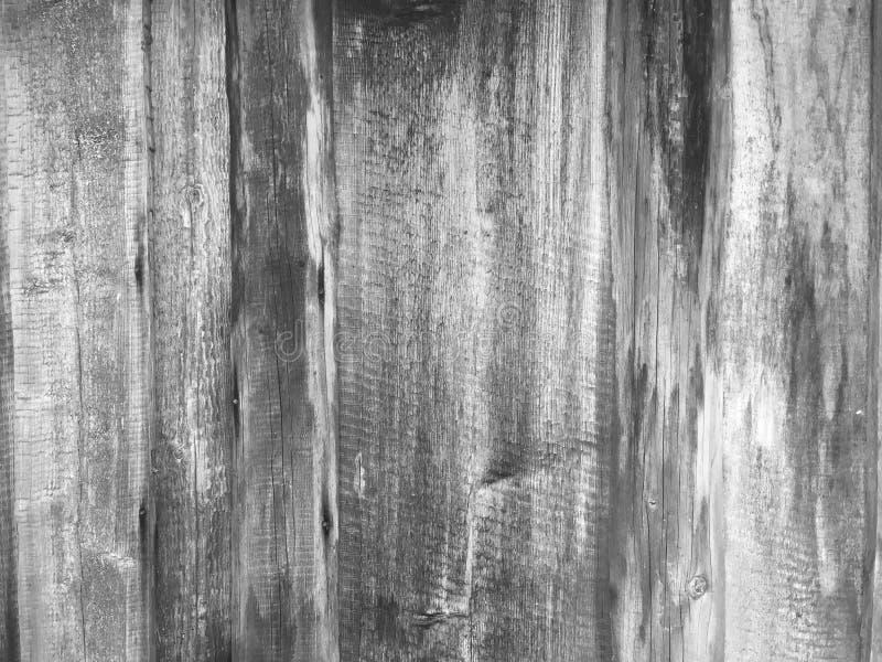 老灰色木篱芭背景 库存照片