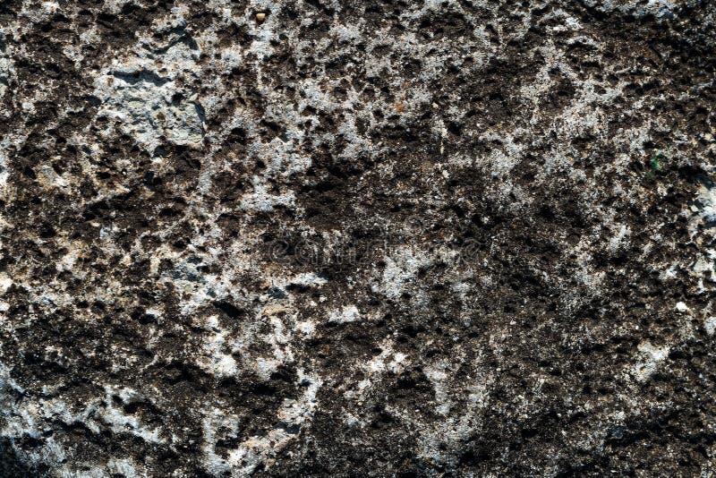 老灰色混凝土墙纹理背景的 免版税库存图片