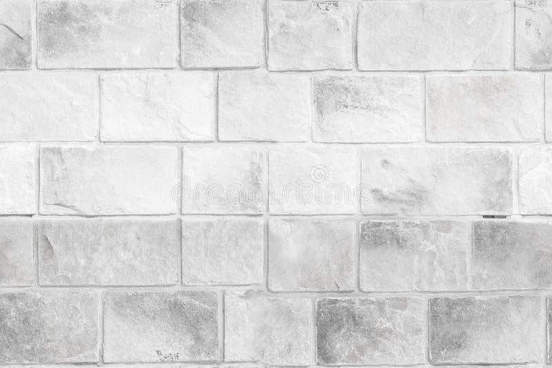 老灰色石墙无缝的背景纹理  免版税库存图片