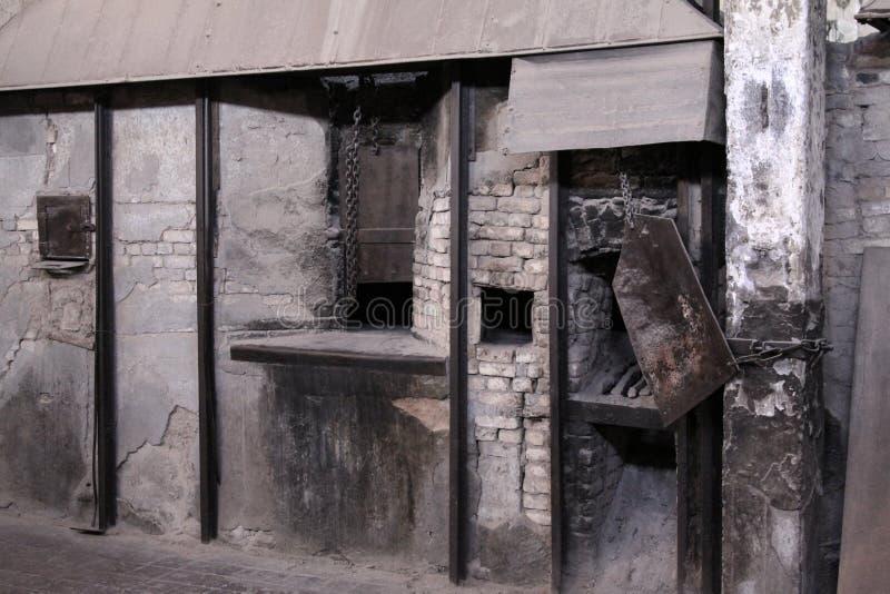 老烤箱 免版税库存图片