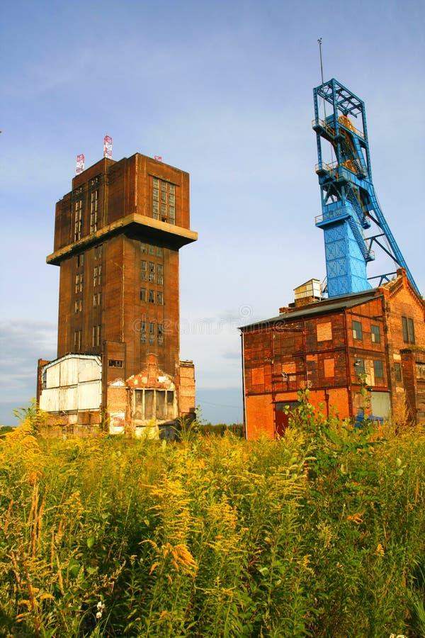 老煤矿 免版税库存照片
