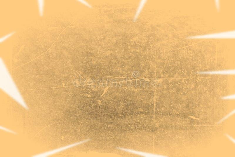 老照片纹理以污点和抓痕 E 空白老年迈的肮脏的框架正面图与污点的 库存照片