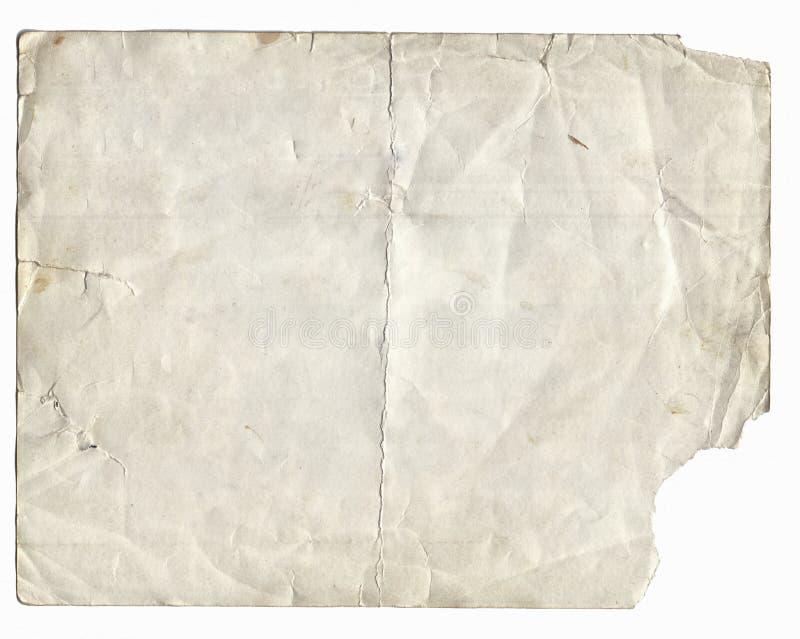 老照片纹理以污点和抓痕 免版税库存照片