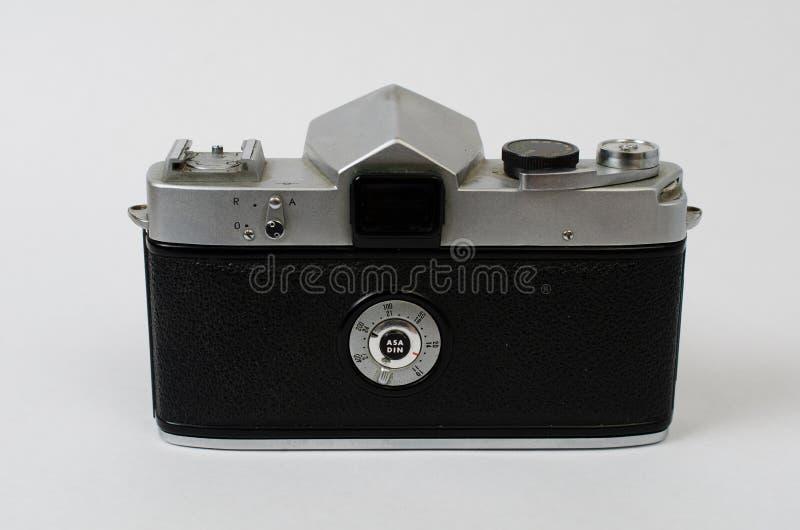 老照相机后面 库存照片