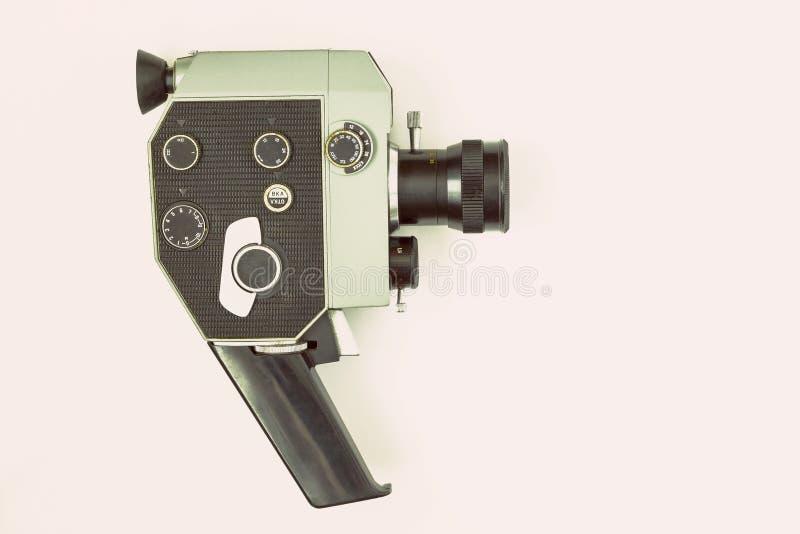 老照相机电影 免版税库存照片