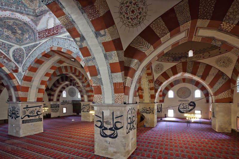 老爱迪尔内清真寺 免版税库存照片