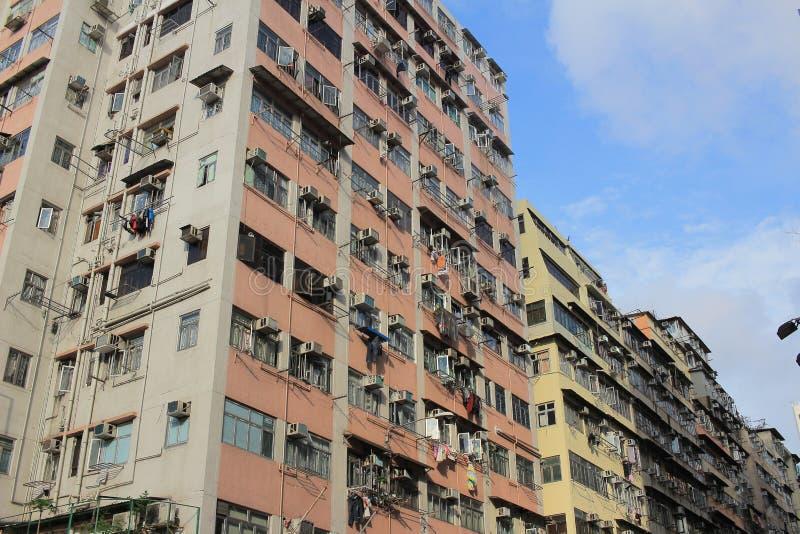 老牌房子在sai kung香港的钳子lau 库存图片