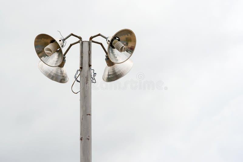 老牌街灯 图库摄影