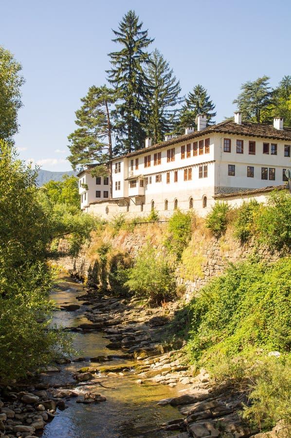 老特罗扬修道院,保加利亚 免版税库存图片