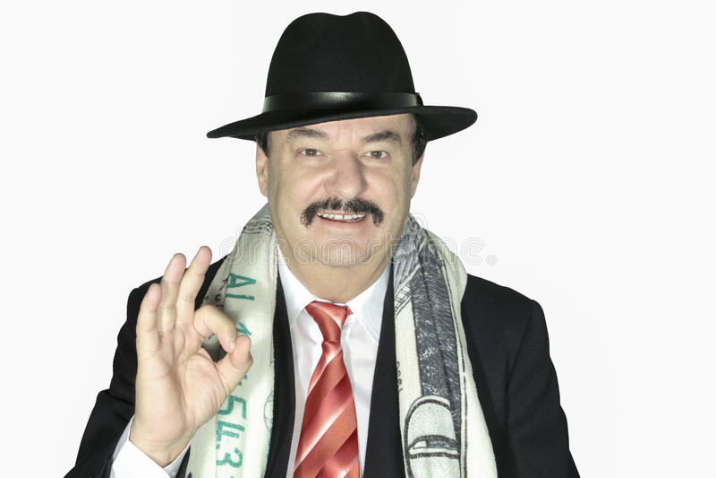 老生意人 免版税库存图片