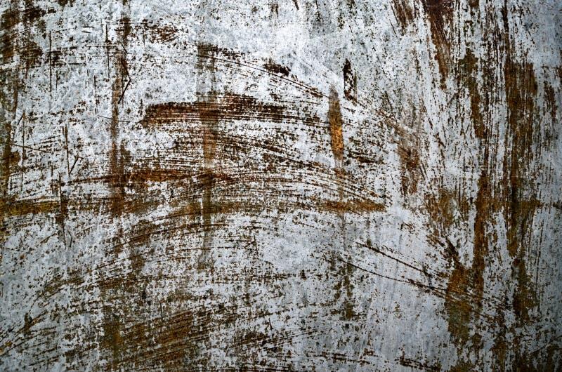老生锈的金属织地不很细背景 库存照片