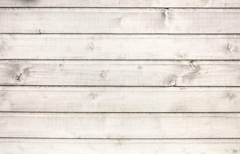 老白色木纹理 库存图片