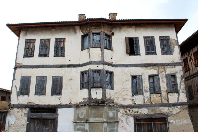 老石房子在番红花城,土耳其 库存图片
