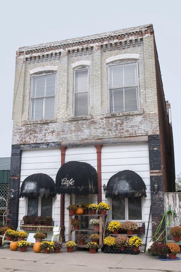 老砖企业大厦 库存图片